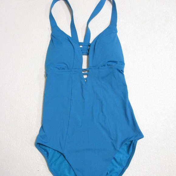 2b9d78ebb0 Sunn Lab Swim Target Turquoise 1 Pc Bathing Suit M